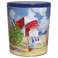 Beachtime Tin - 3.5 Gallon