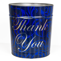 Blue Thank You Tin - 3.5 Gallon