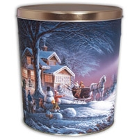 Winter Wonderland Tin - 3.5 Gallon