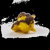 Banana with Chocolate Drizzle